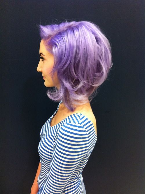 Lavender Hair Color Pictures Photos And Images For Facebook