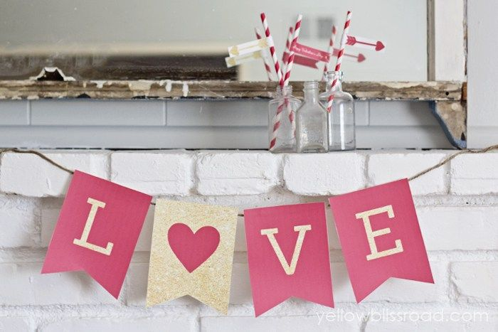 Free Printable Valentines Day Banner Pictures Photos And Images