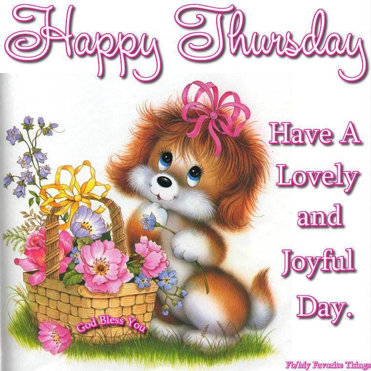 Happy thursday have a lovely and joyful day pictures photos and happy thursday have a lovely and joyful day m4hsunfo