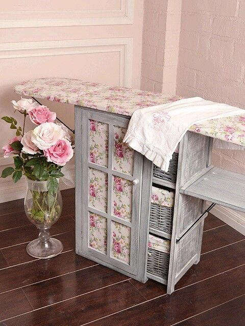shabby chic ironing board pictures photos and images for facebook tumblr pinterest and twitter. Black Bedroom Furniture Sets. Home Design Ideas