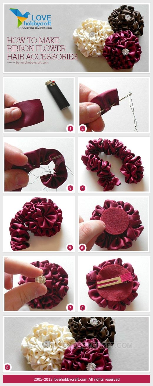 DIY Ribbon Accessories Pictures, Photos, and Images for