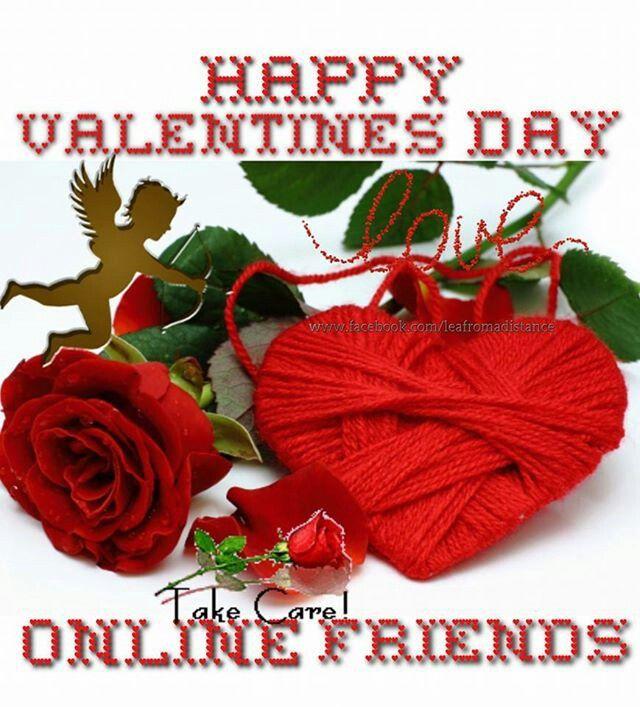 Happy Valentineu0027s Day, Online Friends