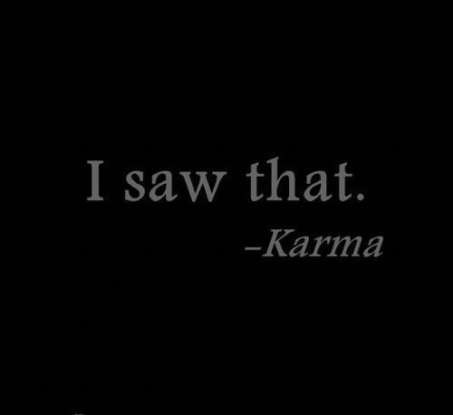 I saw that karma pictures photos and images for for All about karma