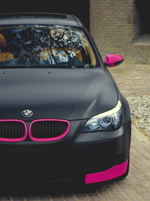 Bmw Quotes Best Black And Pink Designed Bmw Pictures Photos And Images For