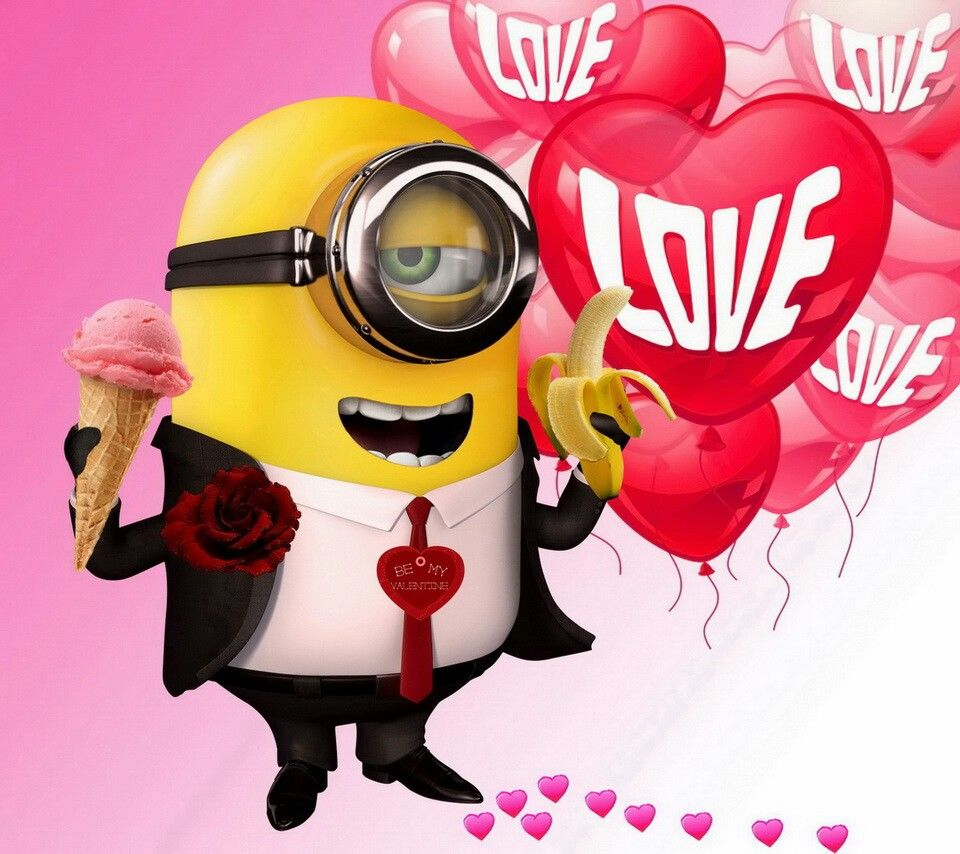 Be My Valentine Minion Pictures Photos And Images For
