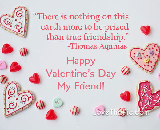 Happy Valentineu0027s Day Friend