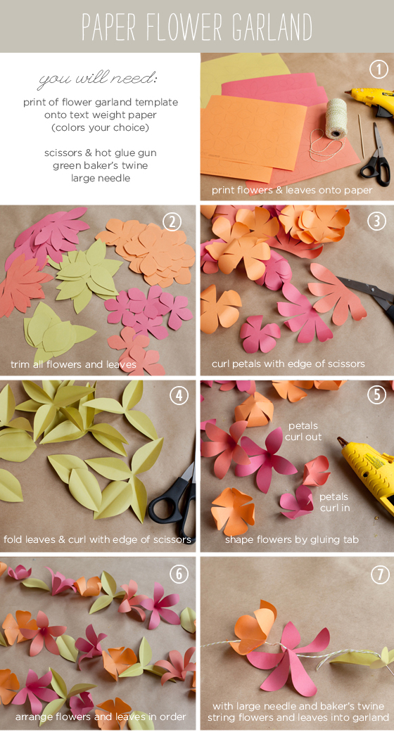 diy paper flower garland pictures  photos  and images for