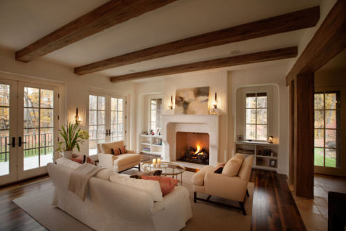 Warm Inviting Living Room