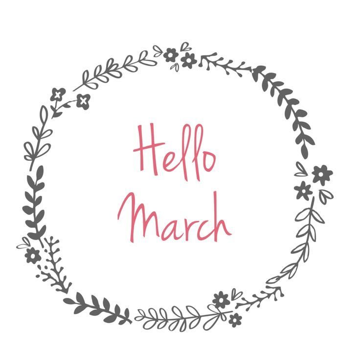 Hello March Pictures, Photos, and Images for Facebook ...