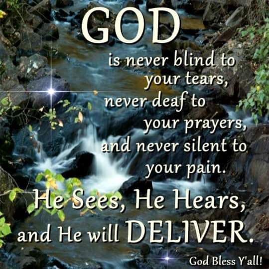 God Is Never Blind To Your Tears%2C Never Deaf To Your Prayers%2C And Never Silent To Your Pain on Christmas Crafts For Kids Morning