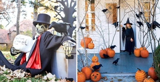 Halloween ideas pictures photos and images for facebook for Decoration exterieur halloween