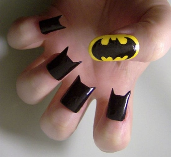 Batman Nail Art - Batman Nail Art Pictures, Photos, And Images For Facebook, Tumblr