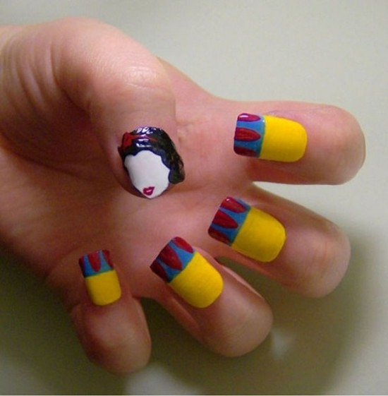 Snow White Nail Designs Pictures, Photos, and Images for Facebook ...