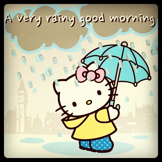 A Very Rainy Good Morning Pictures, Photos, And Images For