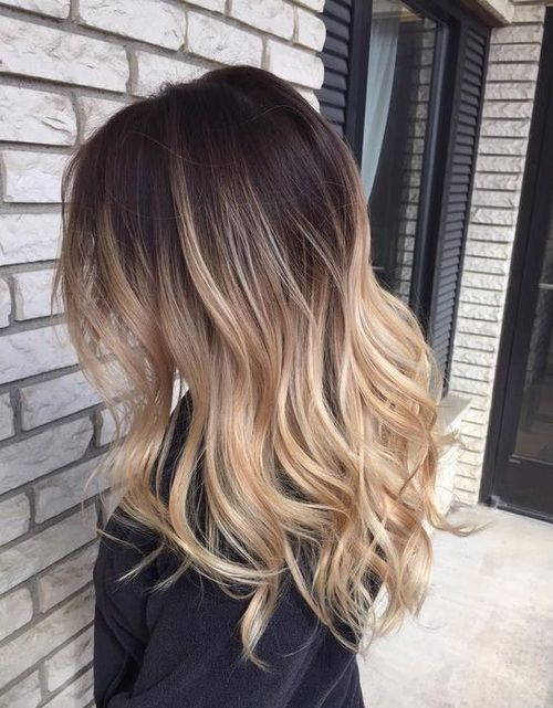 Brown to blonde ombre hair pictures photos and images for facebook tumblr pinterest and twitter - Ombre braun blond ...