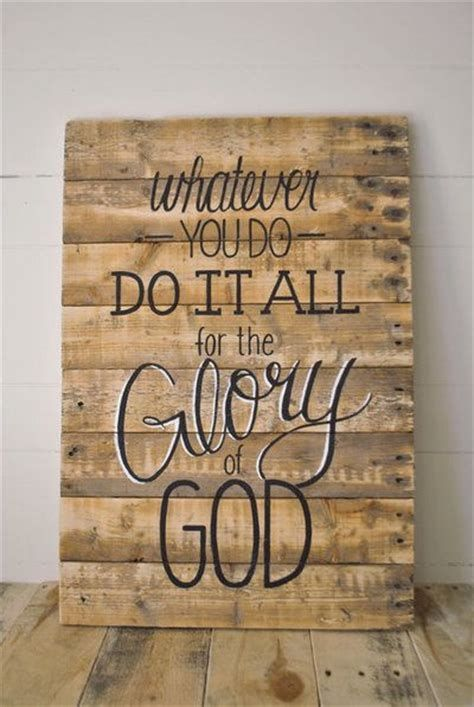 Quotes On Wood Wall Art : Glory of god pictures photos and images for facebook