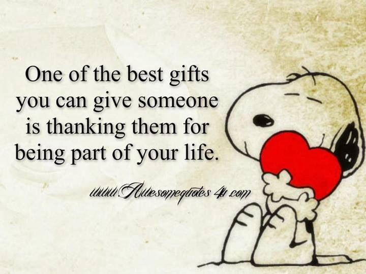 Gifts With Photos On Them Part - 40: One Of The Best Gifts You Can Give Someone Is The Gift Of Thanking Them On  Being A Part Of Your Life.