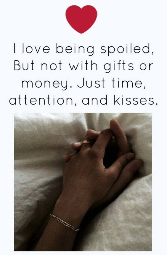 Lots Of Love And Kisses Quotes : I love being spoiled pictures photos and images for
