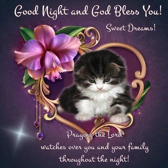 Good Night and God Bless