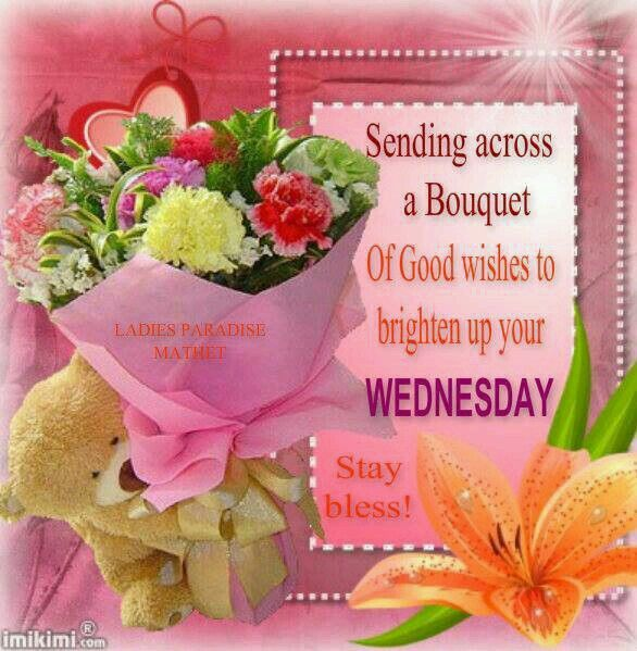 Sending Across A Bouquet Of Good Wishes To Brighten Up Your Wednesday on Christmas Crafts For Kids Morning