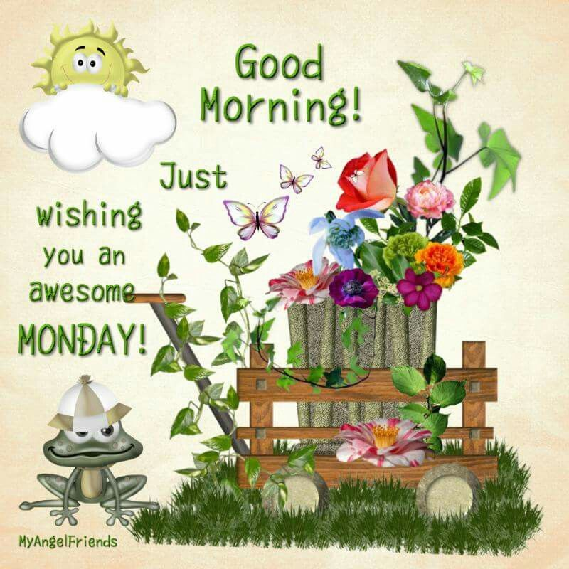 Good Morning Vintage Quotes : Good morning wishing you a happy monday pictures photos