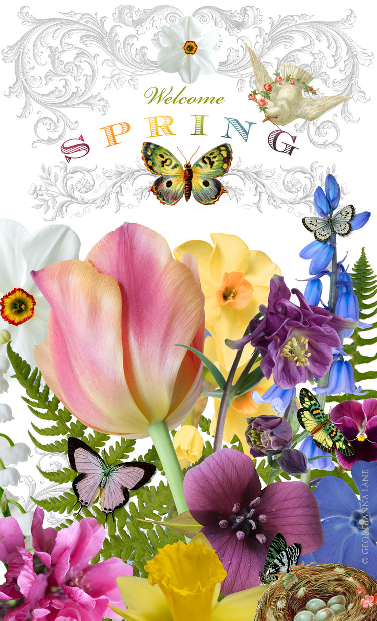 Welcome Spring Pictures, Photos, and Images for Facebook ...
