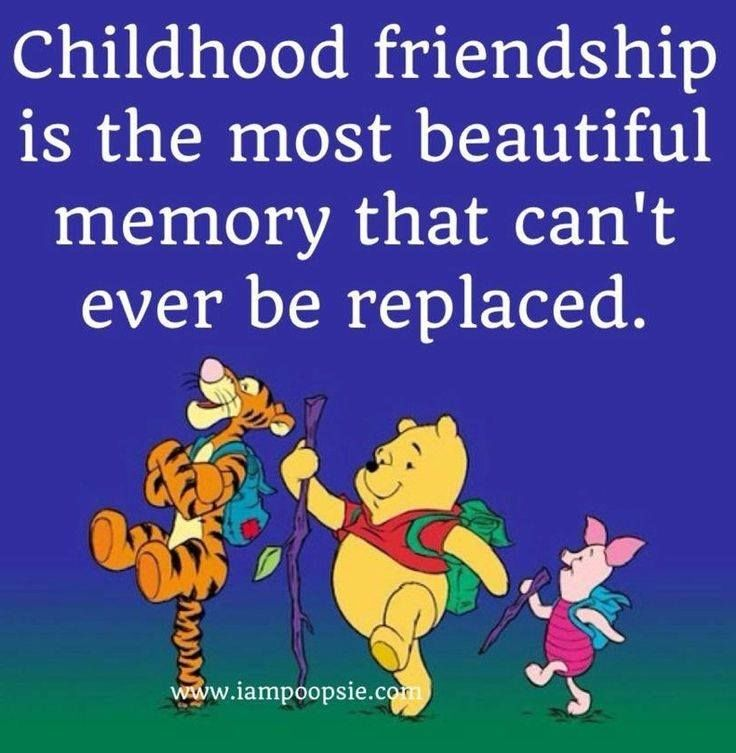 Most Beautiful Friendship Images: Childhood Friendship Is The Most Beautiful Memory That Can