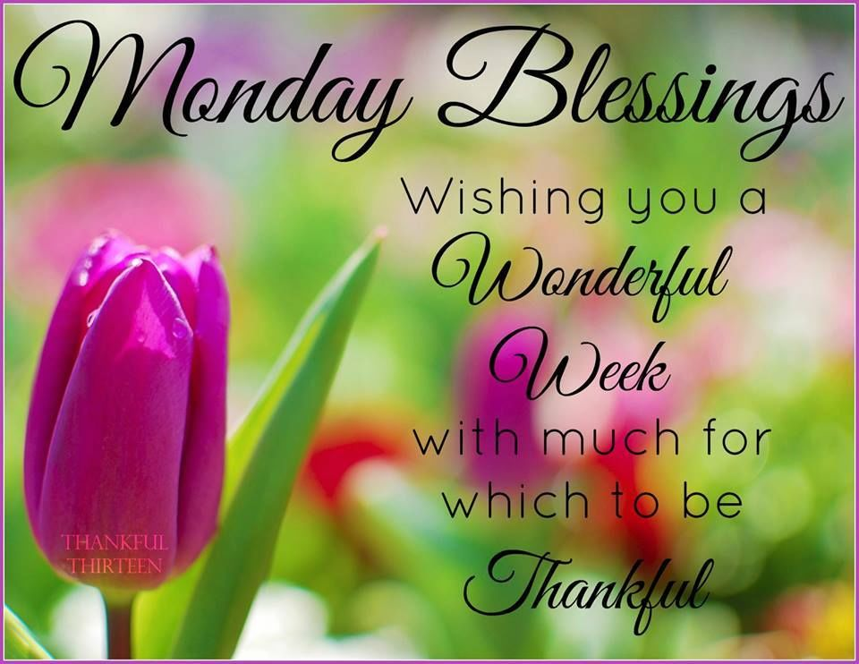 Spring monday blessings pictures photos and images for - Monday blessings quotes and images ...