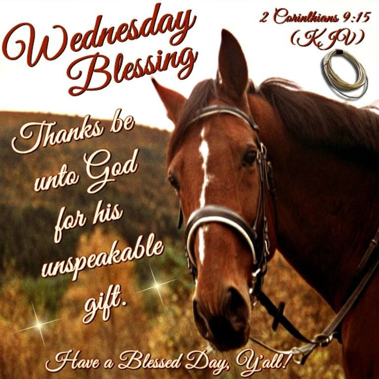 Wednesday Blessing, Thanks Be Unto God For His Unspeakable