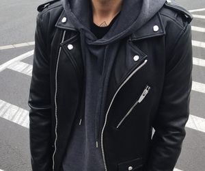 Black Leather Biker Jacket Pictures Photos And Images