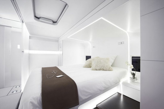 Futuristic White Bedroom Pictures, Photos, and Images for ...