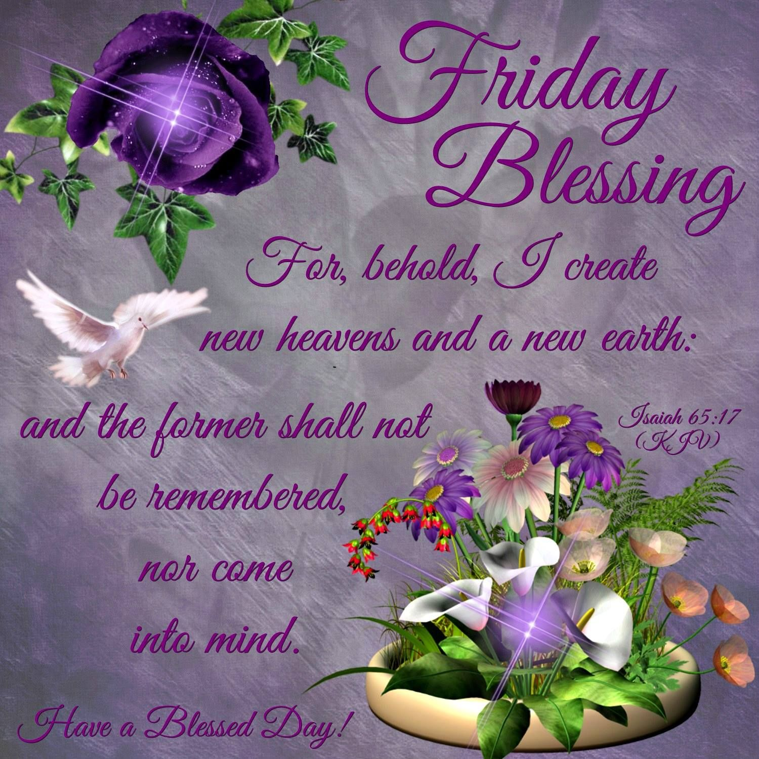 Friday Blessing Pictures Photos And Images For Facebook