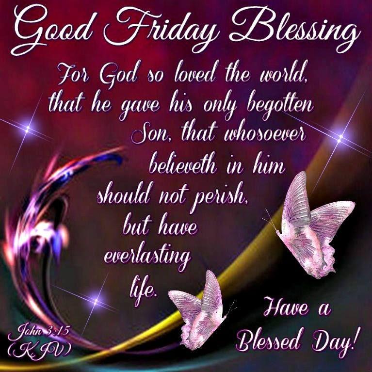 Good Friday Blessing Photos