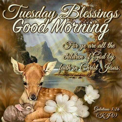 Tuesday Blessings, Good Morning Pictures, Photos, and