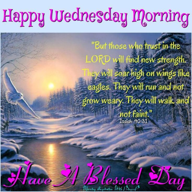 Wed Morning Quotes: Happy Wednesday Morning, Have A Blessed Day Pictures