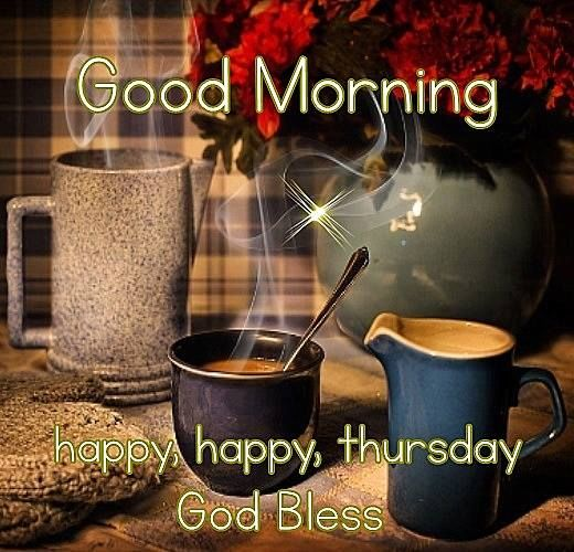 Good Morning Happy Thursday Coffee Quote Pictures, Photos ...