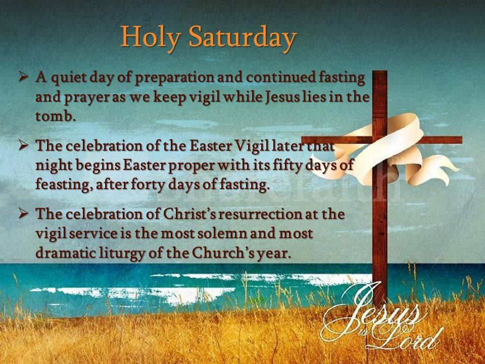 Holy saturday jesus is lord pictures photos and images - Holy saturday images and quotes ...