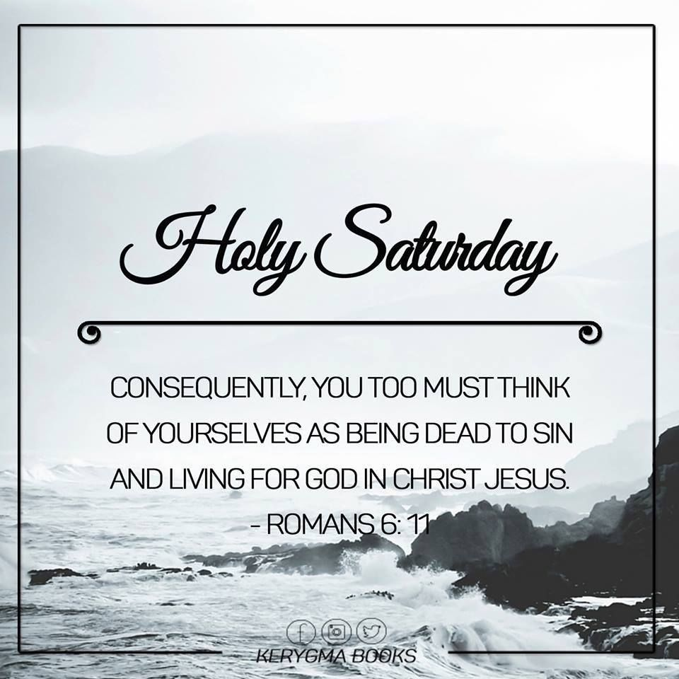 Holy Saturday Quote Image Pictures, Photos, and Images for ...