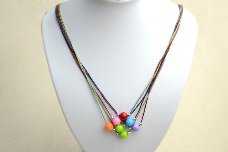 How to Make a String Bead Necklace