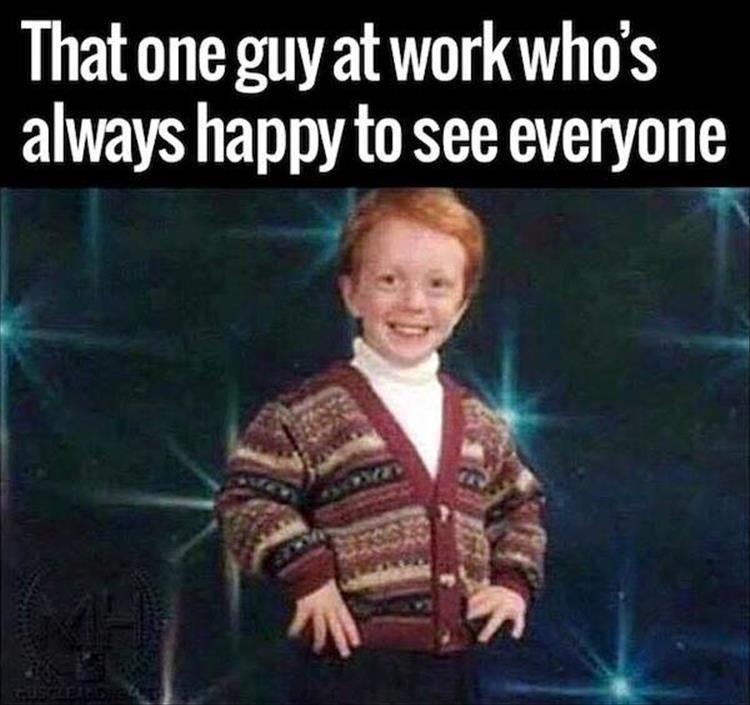 I like a guy at work