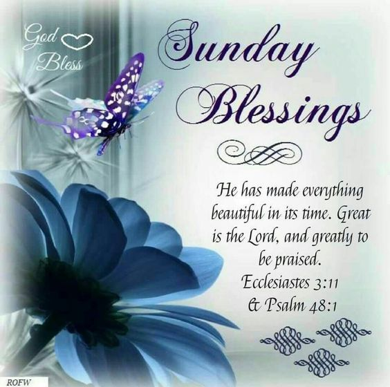 Powerful Sunday Msg For Him: Sunday Blessings Pictures, Photos, And Images For Facebook