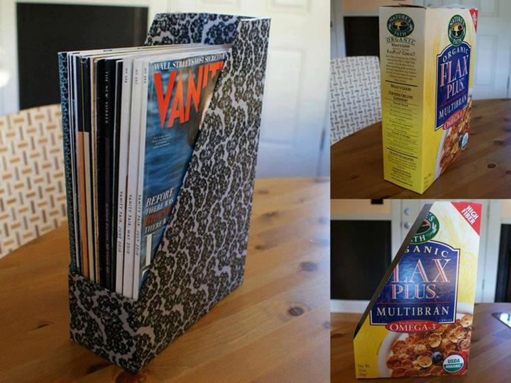 DIY Magazine Holder Pictures, Photos, and Images for
