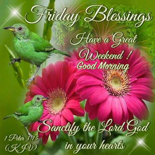 Good Morning Blessings Friday : Friday blessings good morning pictures photos and