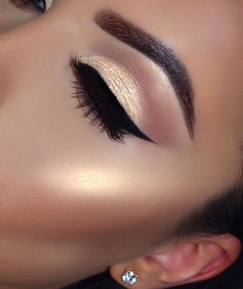 Glamorous makeup idea