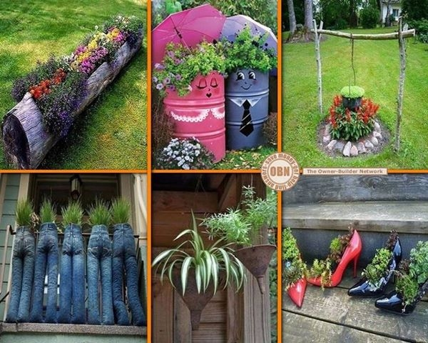 Diy garden ideas on pinterest pdf - Diy garden decoration ideas ...