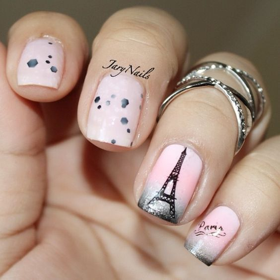 Paris Themed Nails Pictures Photos And Images For Facebook Tumblr Pinterest And Twitter