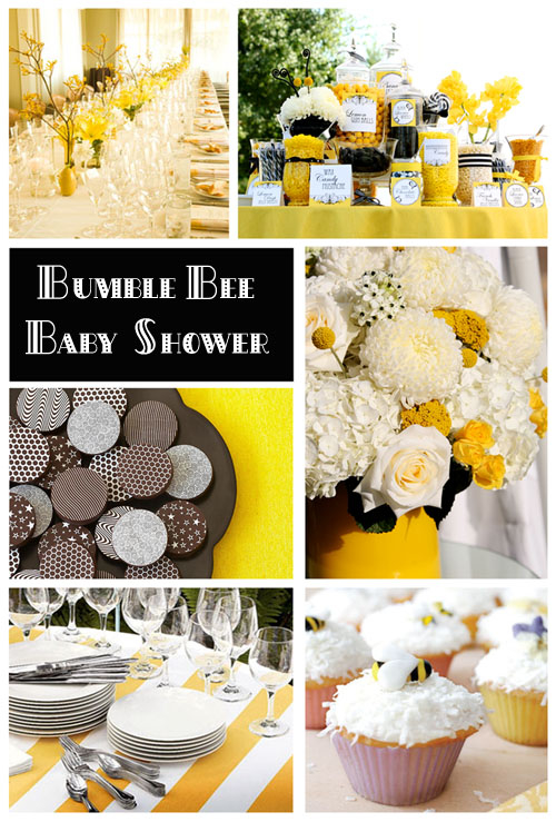 bumble bee baby shower pictures photos and images for. Black Bedroom Furniture Sets. Home Design Ideas