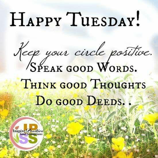 Tuesday Morning Inspirational Quotes: Happy Tuesday Positive Quote Pictures, Photos, And Images