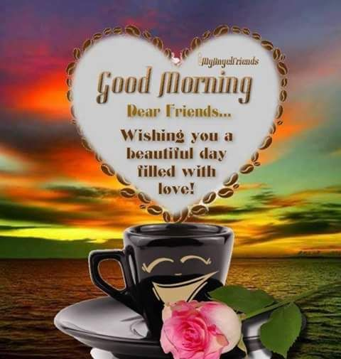 Good Morning Dear Friends Pictures, Photos, and Images for