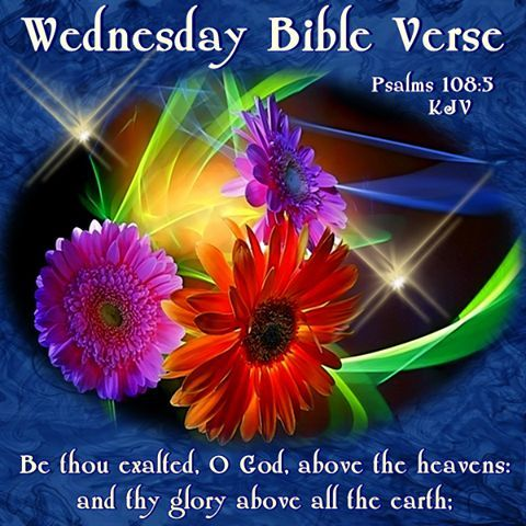 Good Morning Bible Quotes Entrancing Wednesday Bible Verse Pictures Photos And Images For Facebook